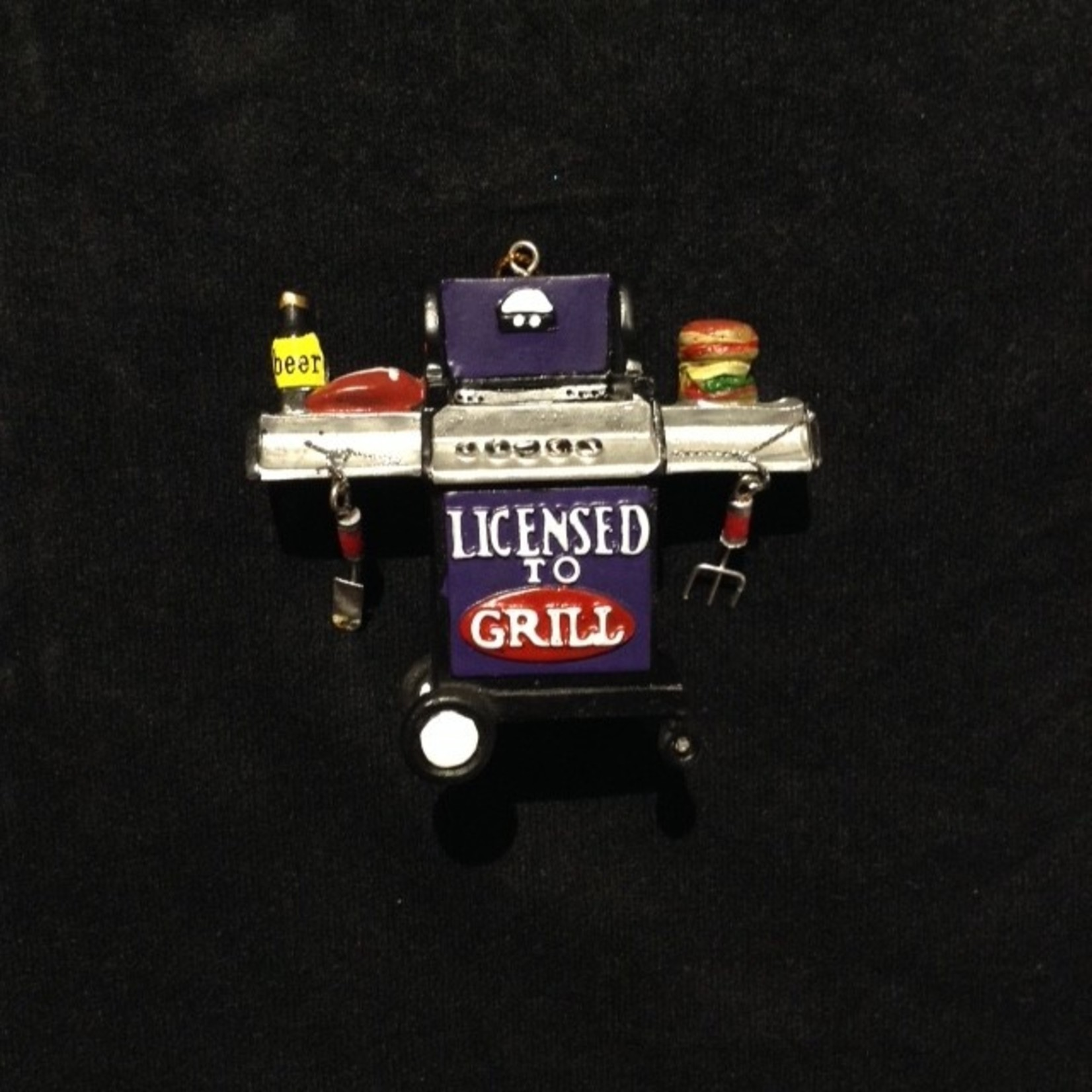"""""""Licensed to Grill"""" Orn"""