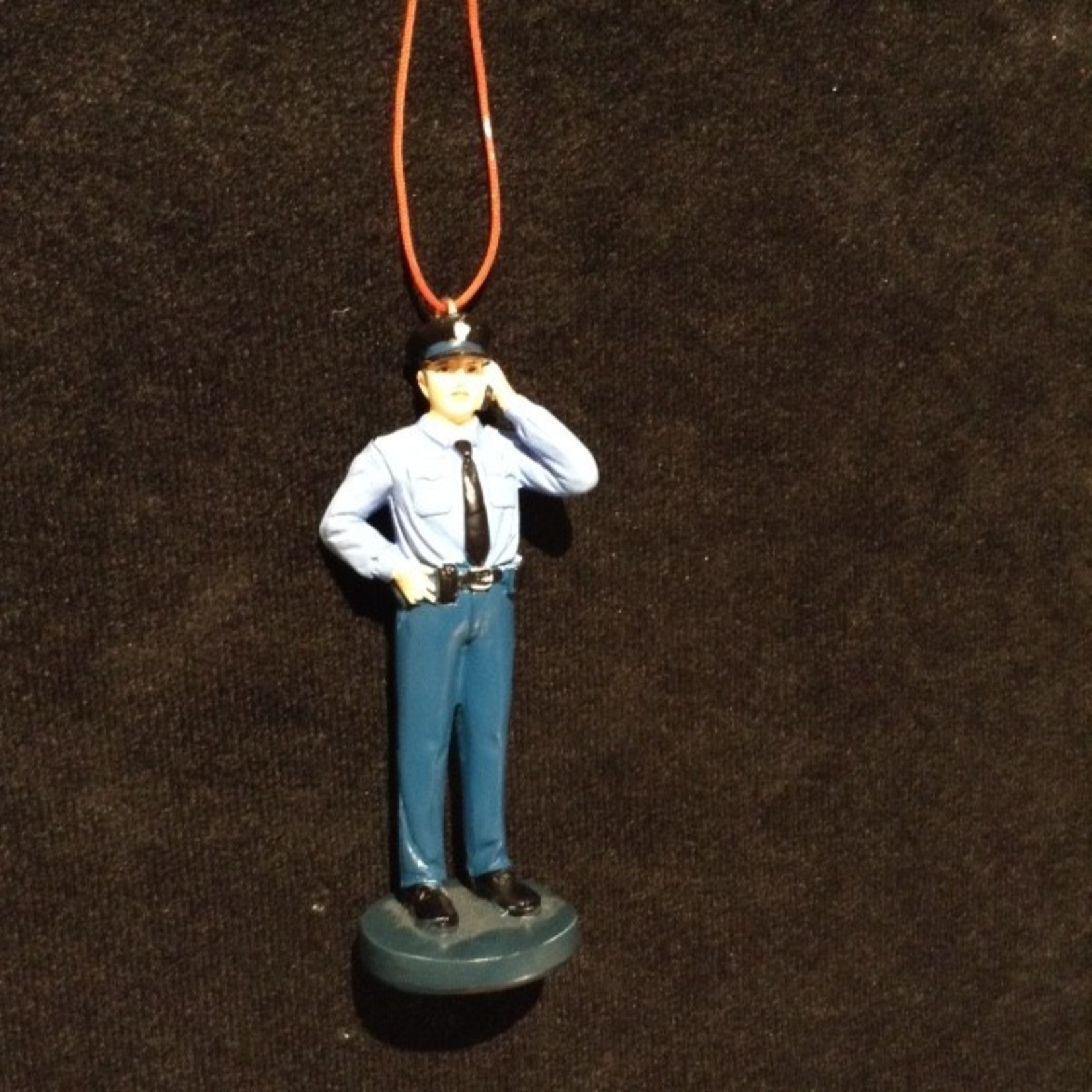 Policeman Ornament