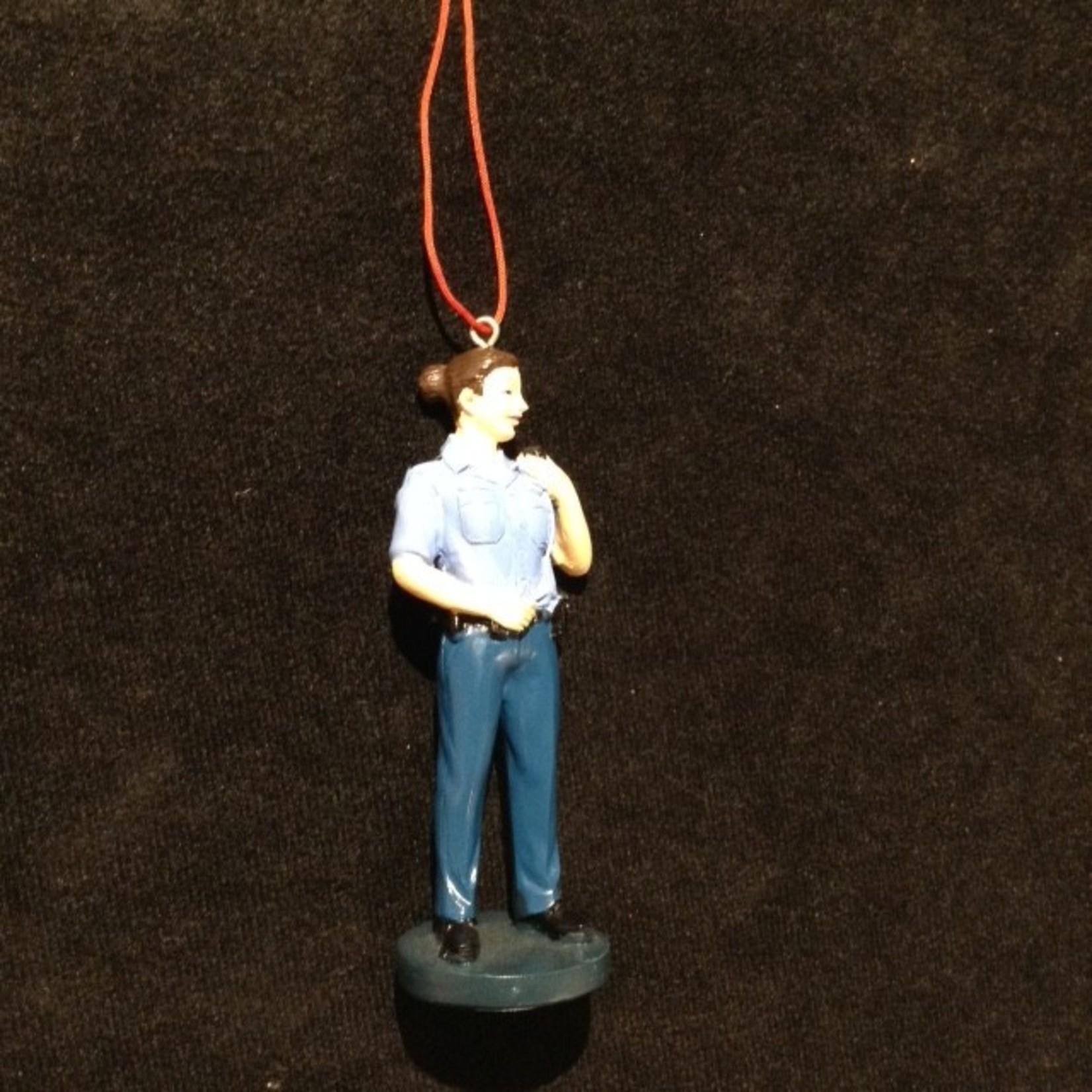 Policewoman Ornament