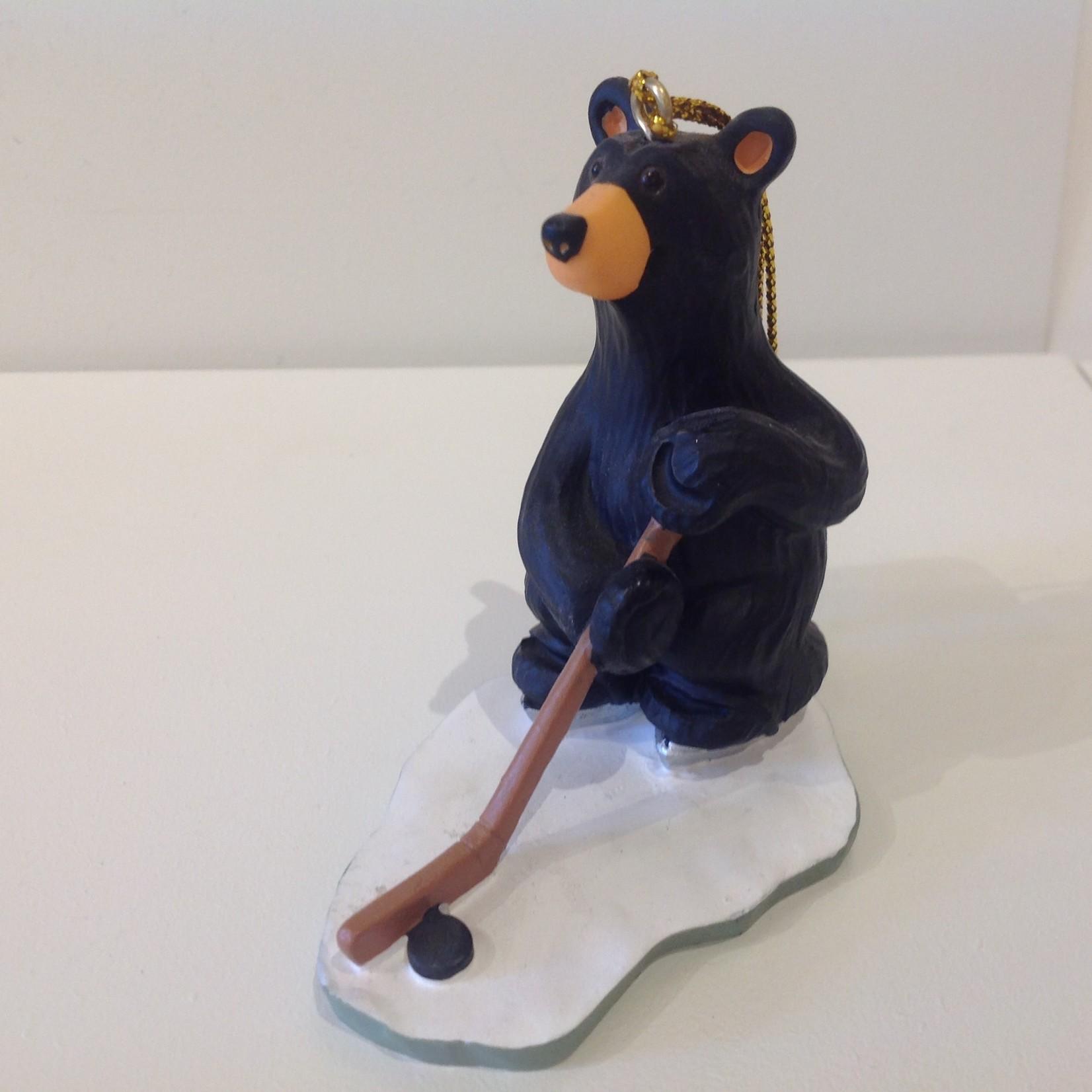 Hockey Bear Ornament