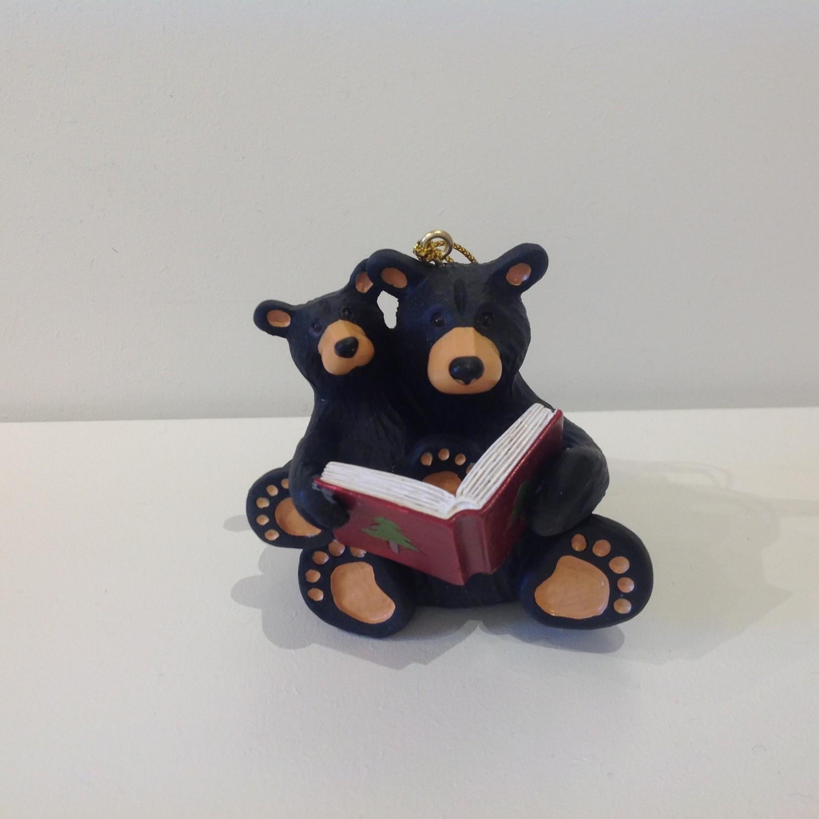 Bear Christmas Story Ornament