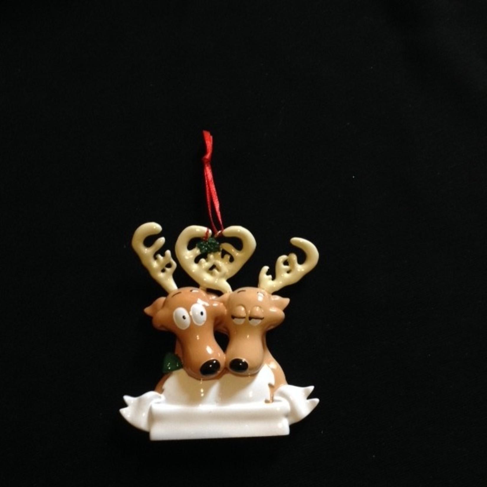 Reindeer Family Orn - 2