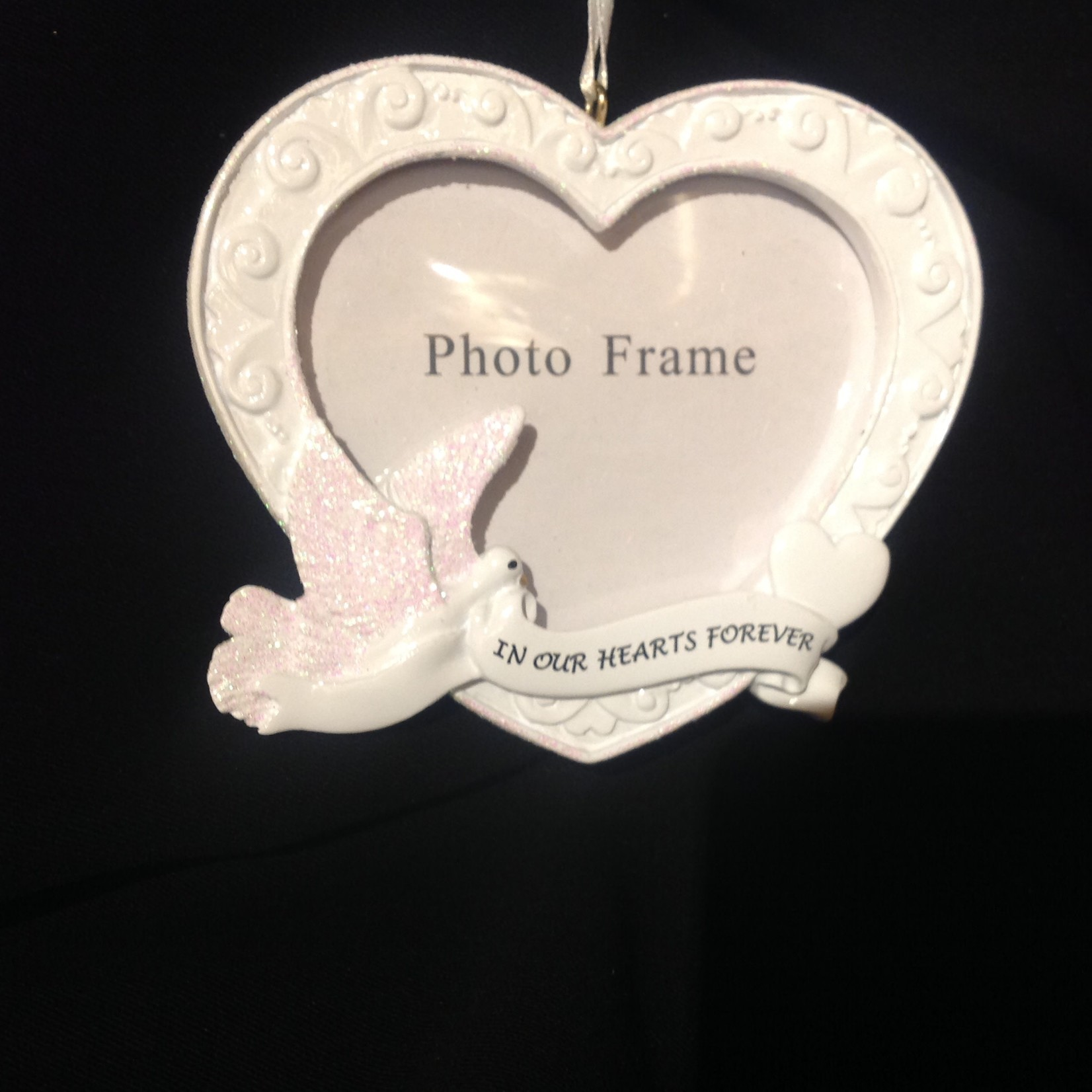 In Our Hearts Frame Orn