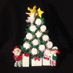 Peppermint Tree Table Topper