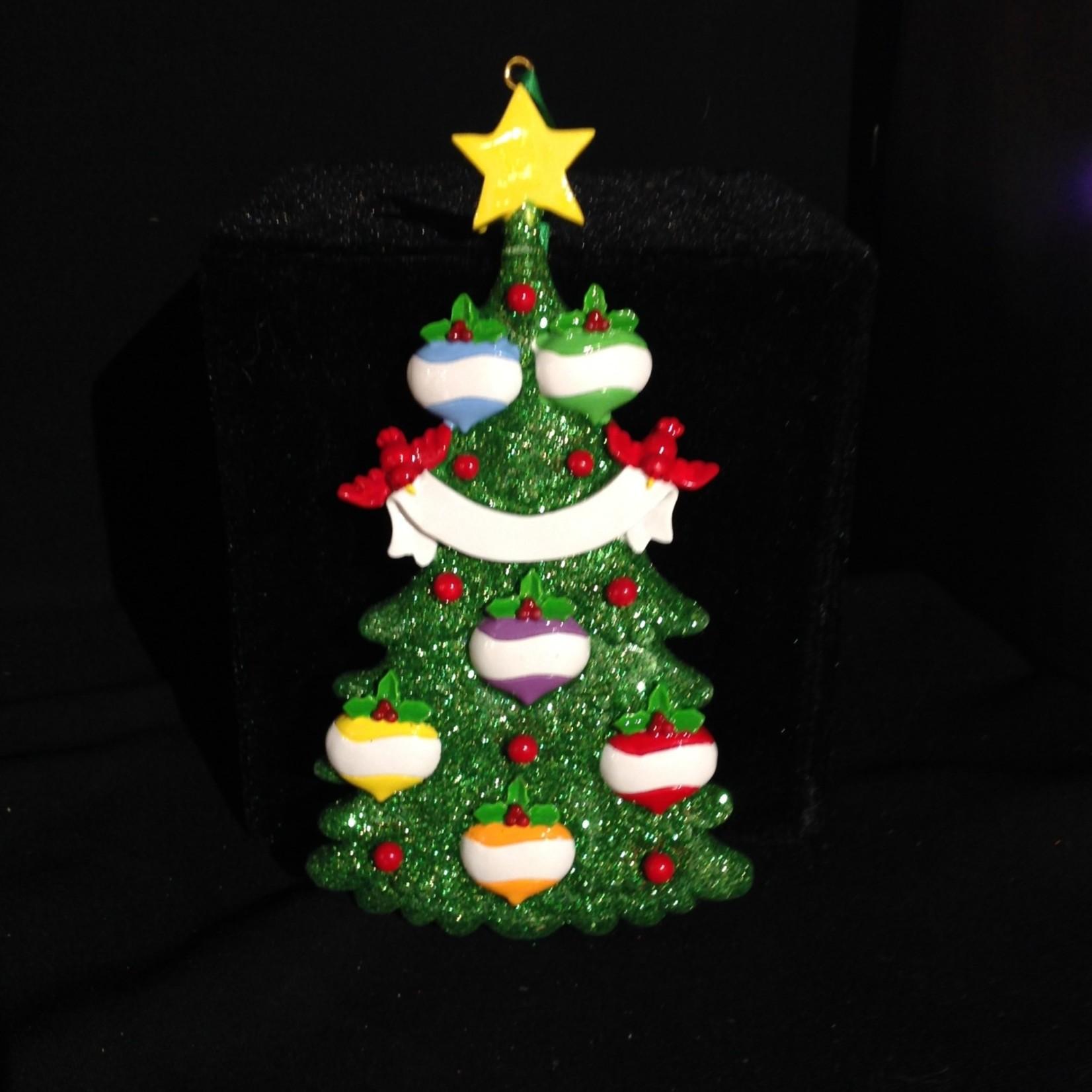 Green Tree - 6 Ornament