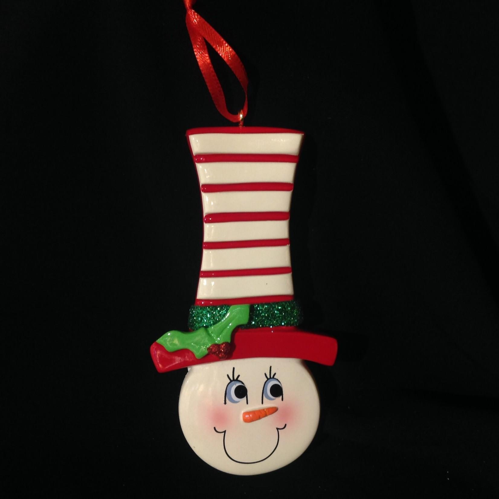 **Snowman Face Ornament