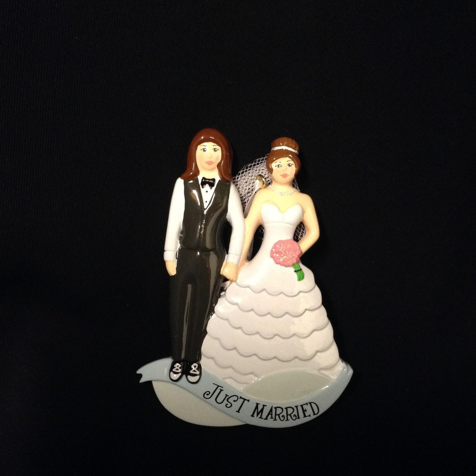 Same Sex Marriage Orn - Women 2A
