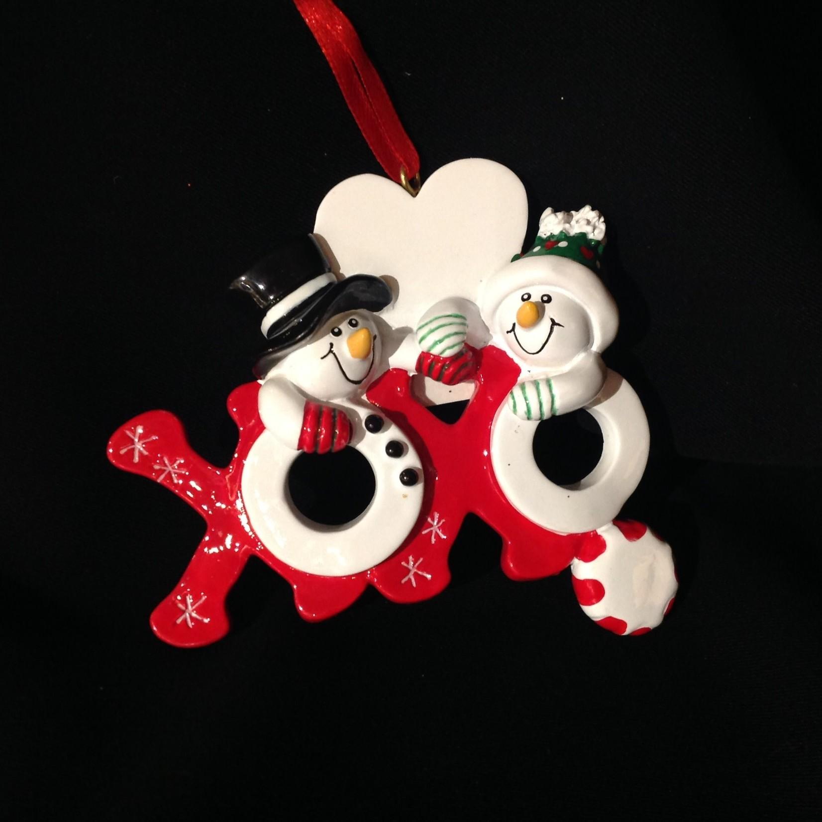 Hugs & Kisses Ornament