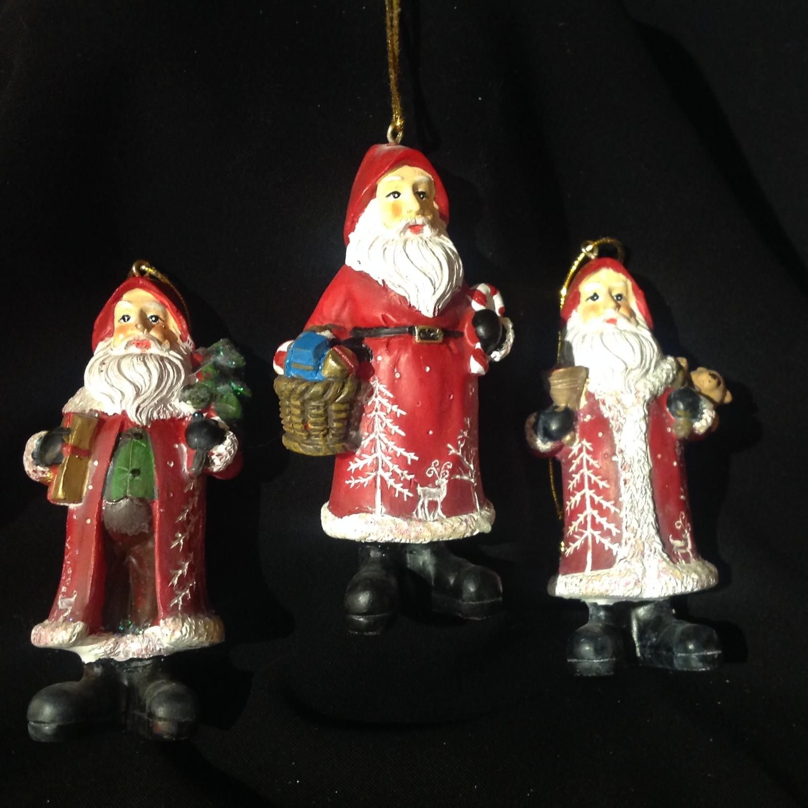 **Santa w/Tree/Basket/Bell Orn 3A