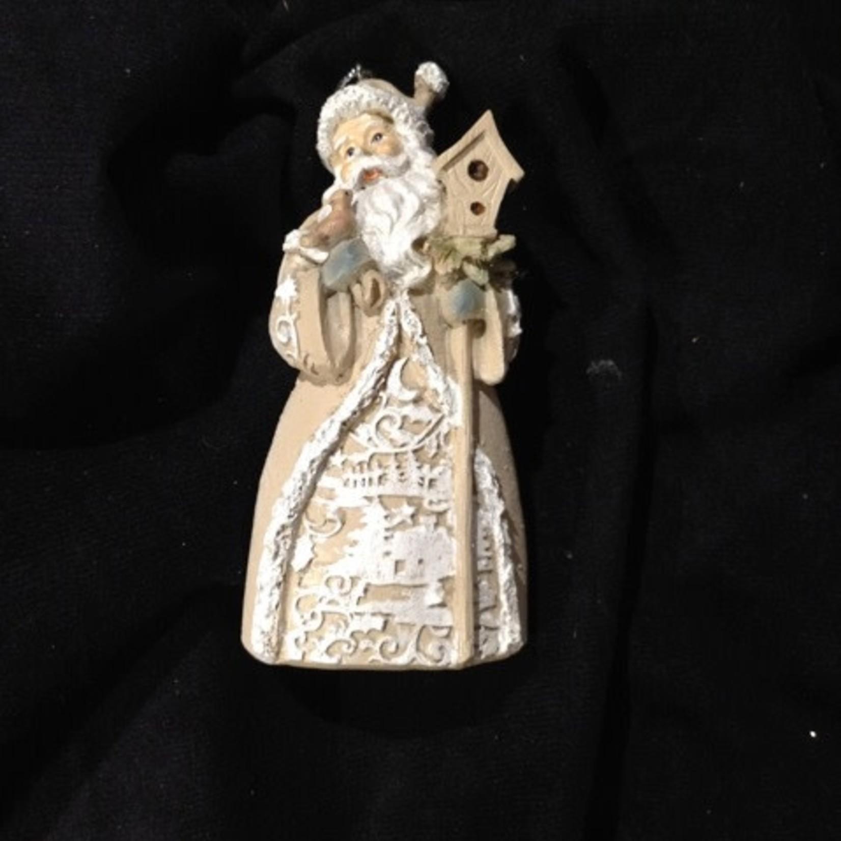 Papercut Santa Ornament 3A