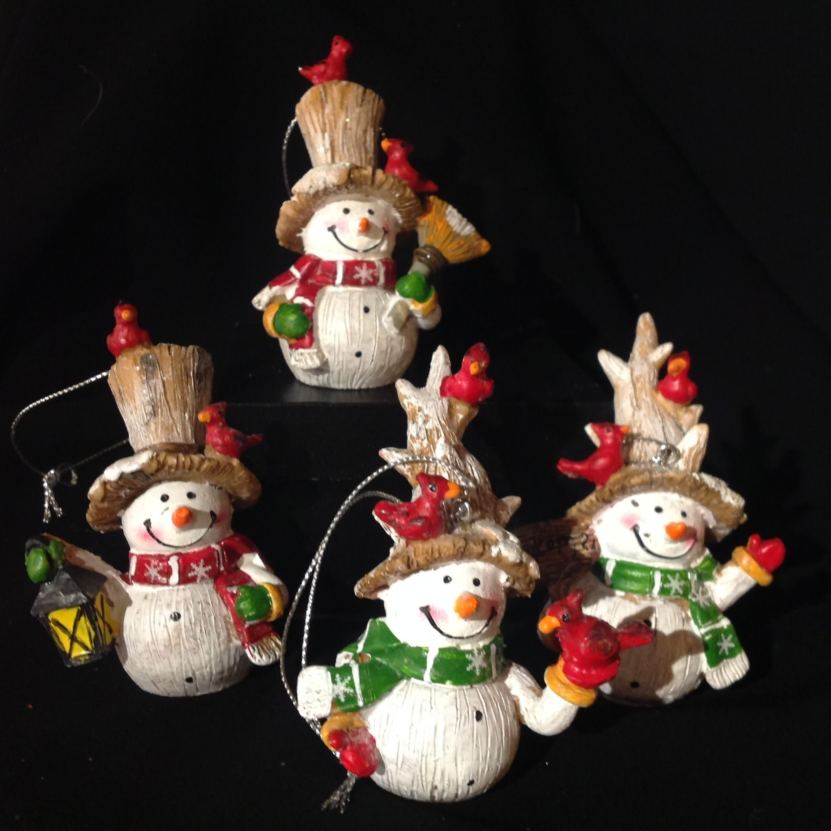 **Country Snowman Ornament 4A