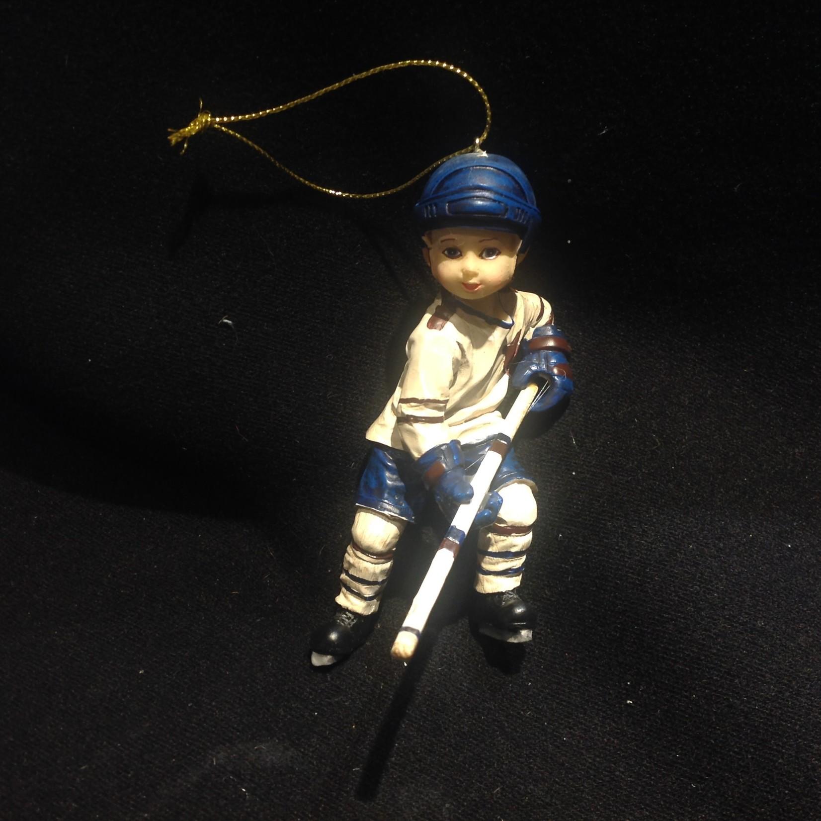 """5"""" Boy Hockey Orn"""