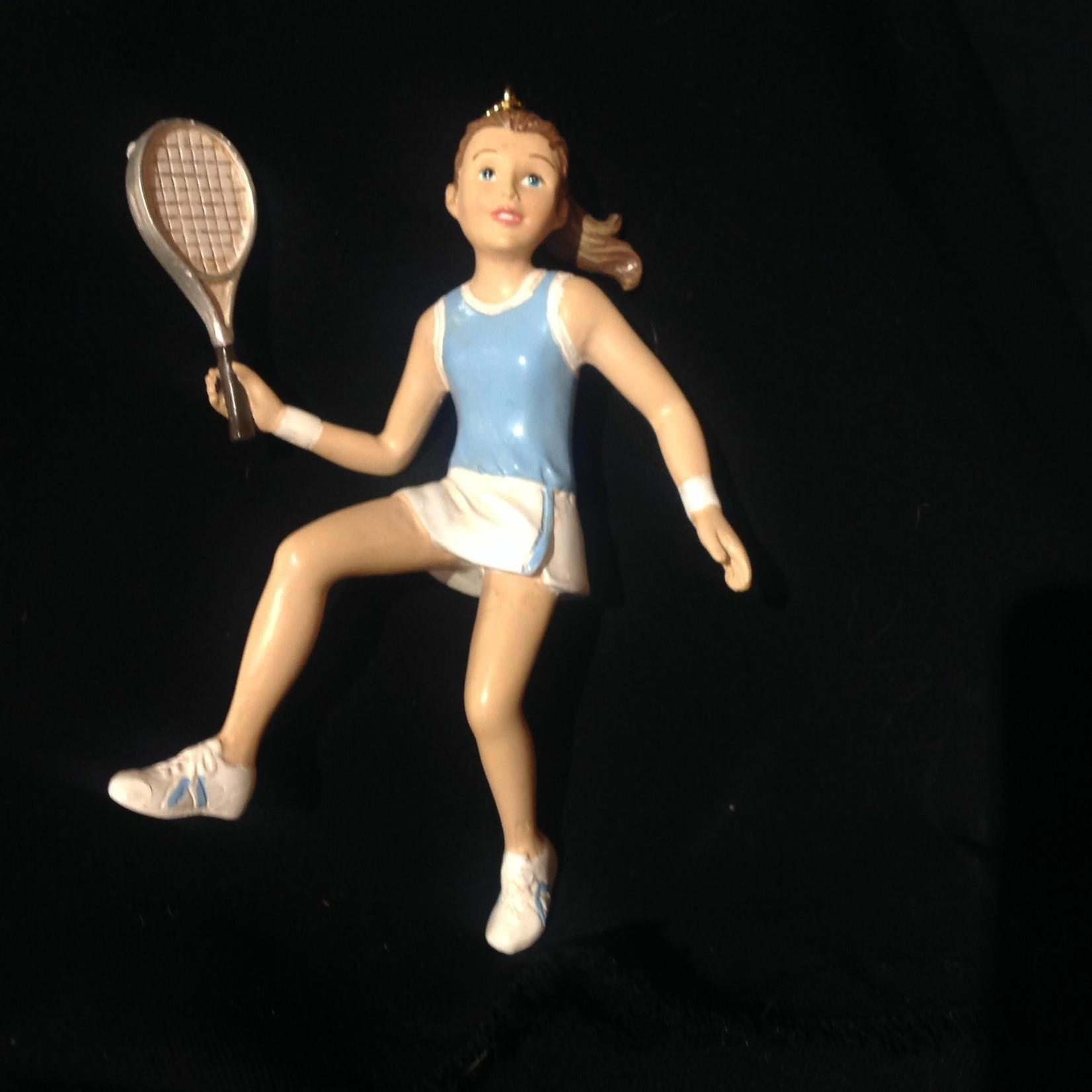 Girl Tennis Orn