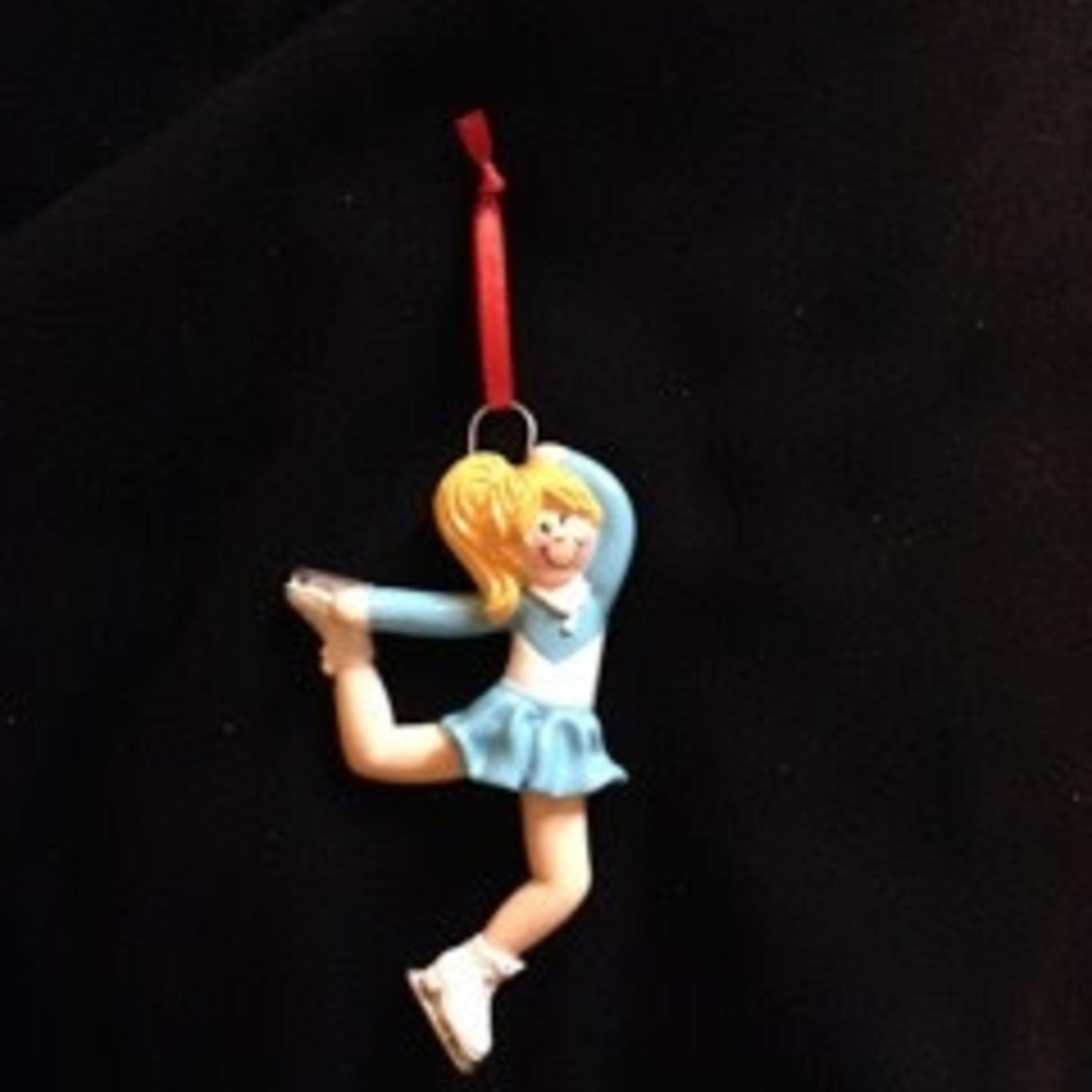Figureskater Girl Orn - Blonde