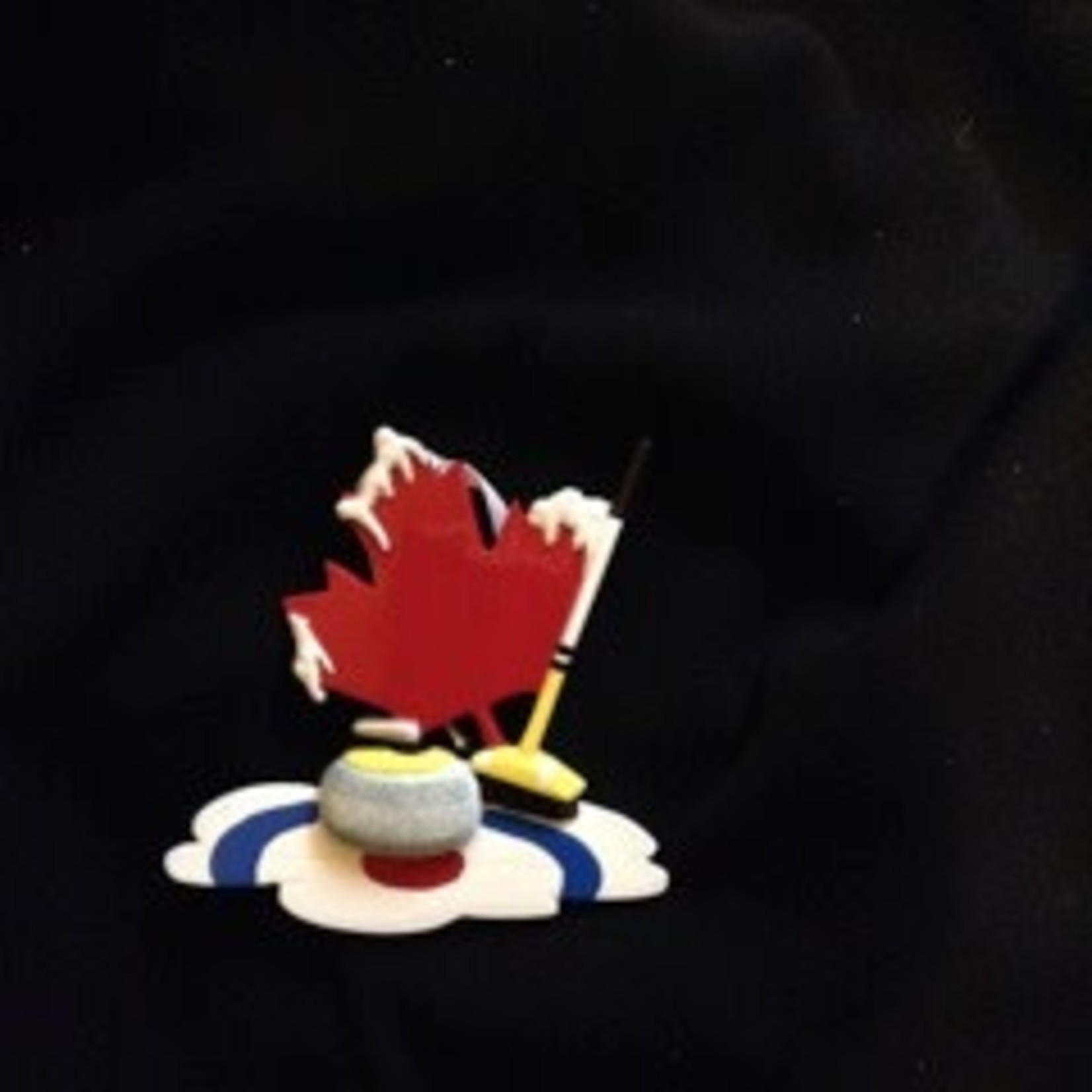Canadian Curling Orn