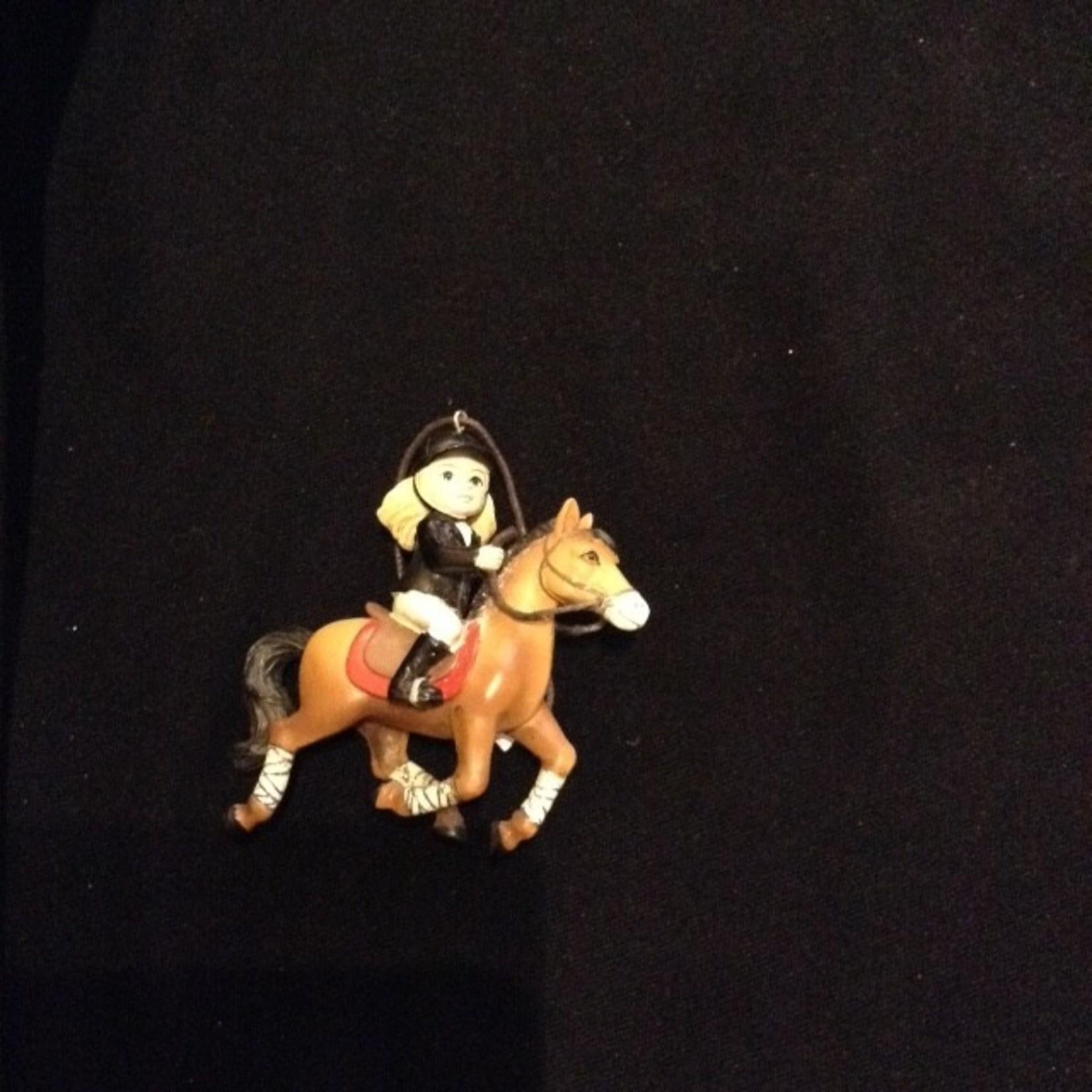 Horse Riding Girl Orn 2A