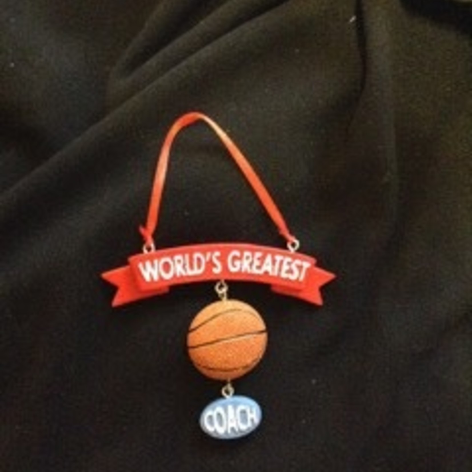 **World's Greatest Coach Orn - Basketball