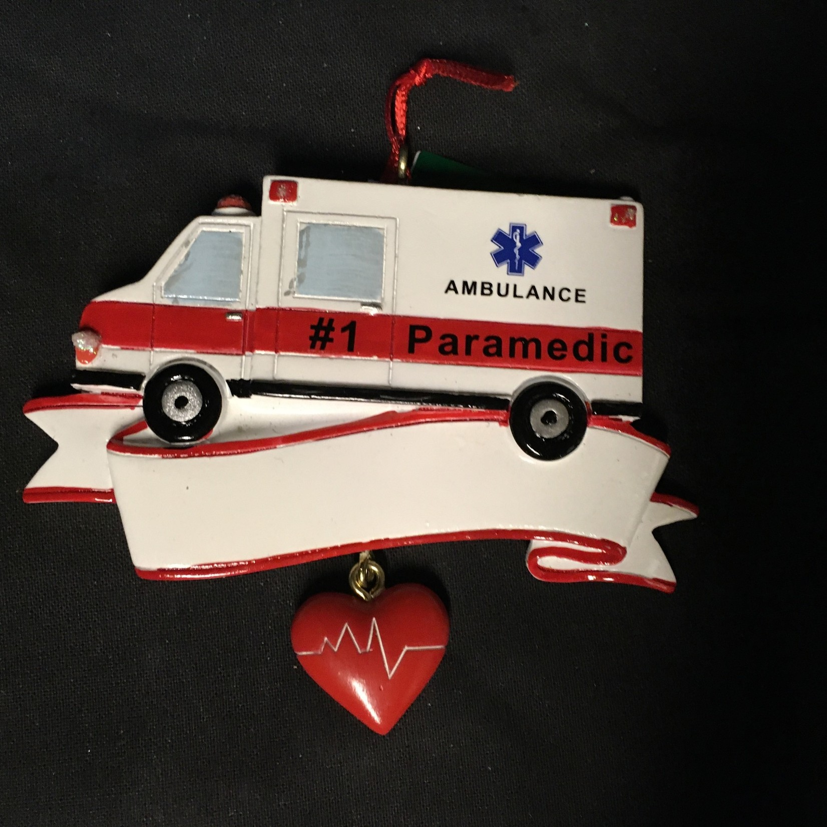Pers. Ambulance Ornament