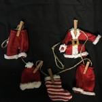 """**32"""" Santa Suit Garland"""