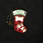 **Puppy's 1st Christmas Stocking Orn