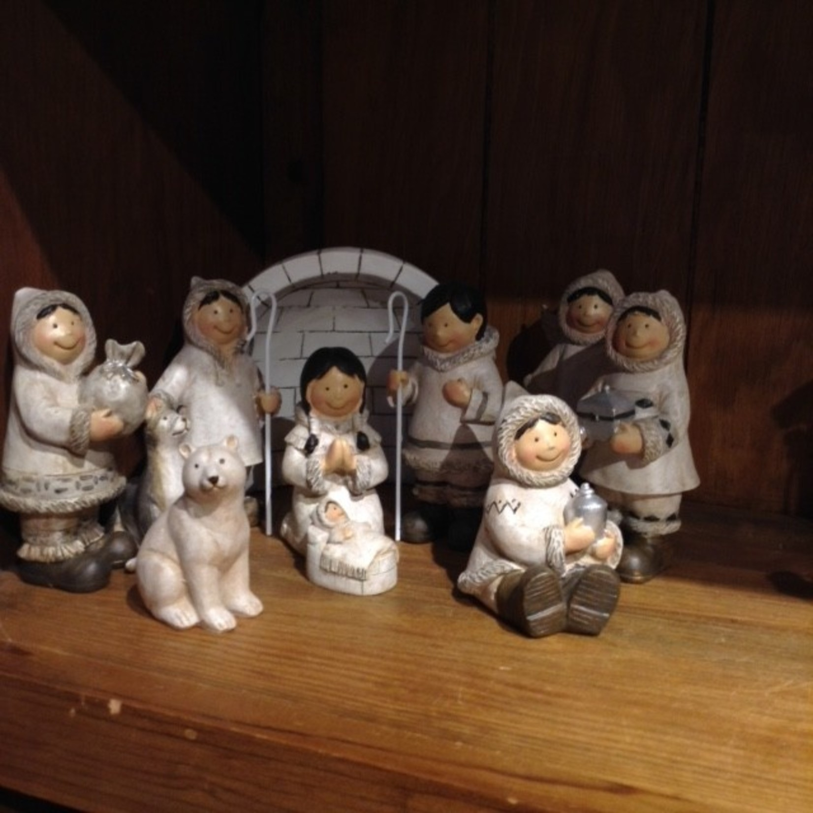 Inuit Nativity