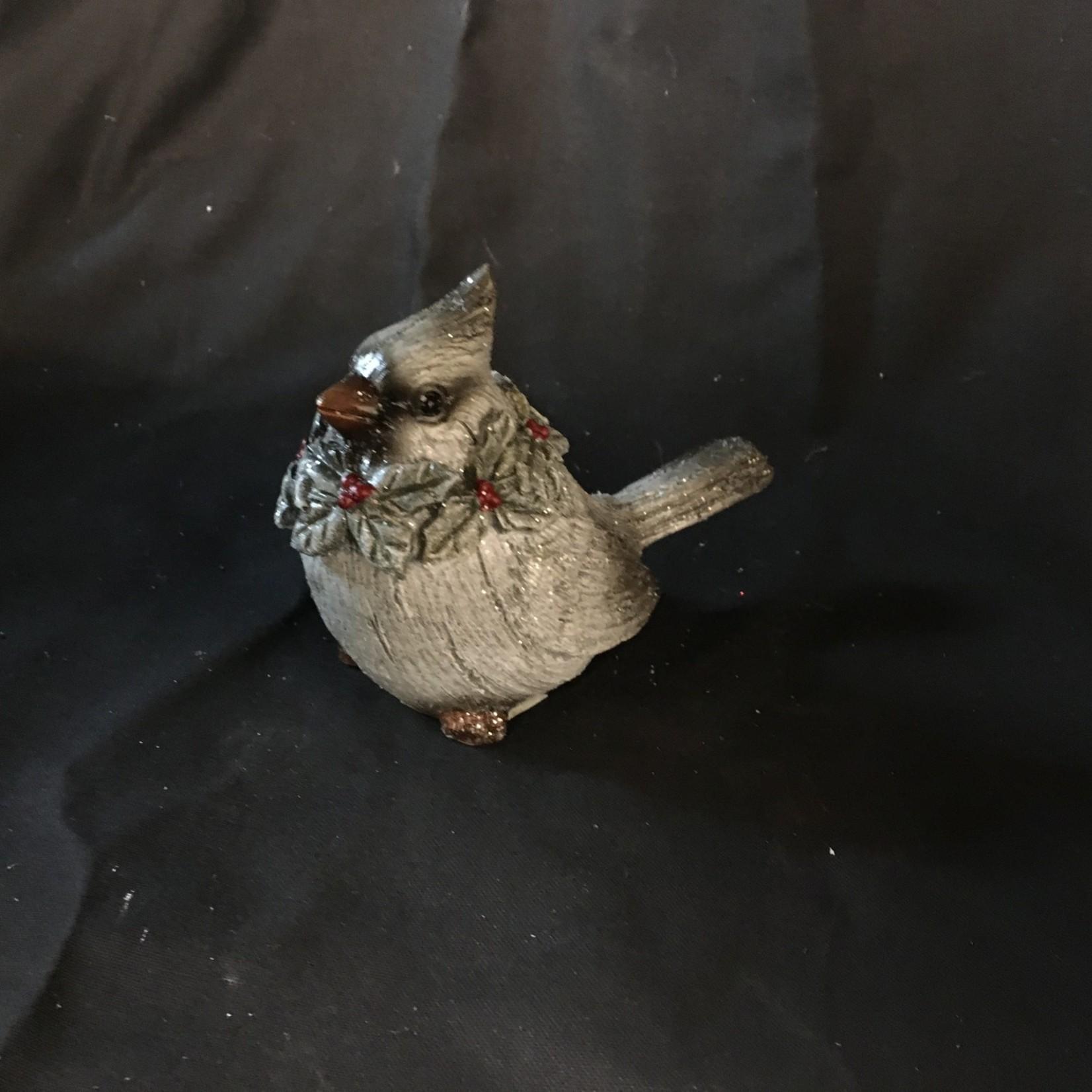 Gray Cardinal Figurine (Small)