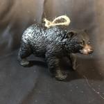 "4"" Black Bear Ornament"