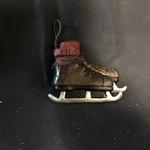 """**5"""" Brown Vintage Skates Orn"""