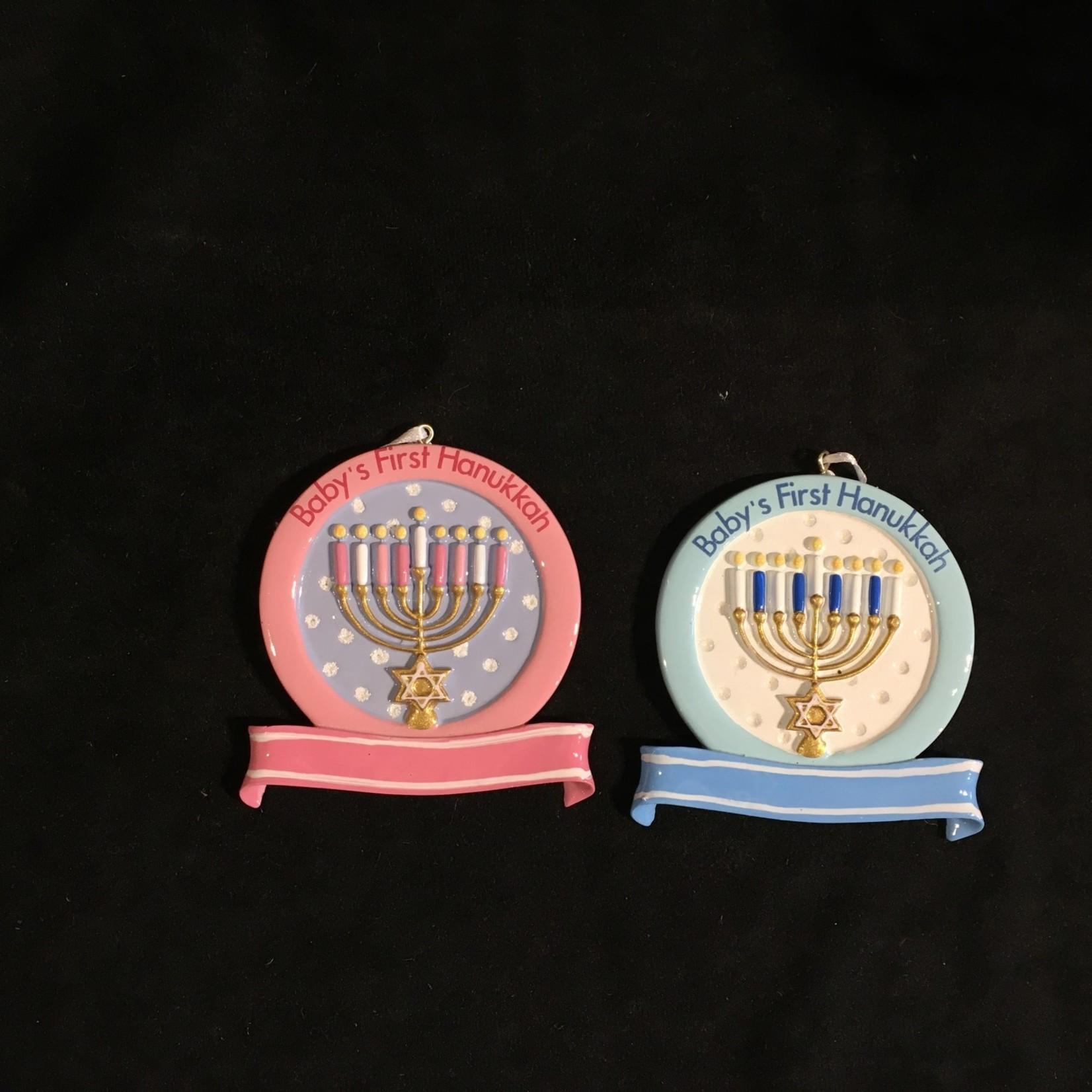 Baby's 1st Hanukkah Orn 2A