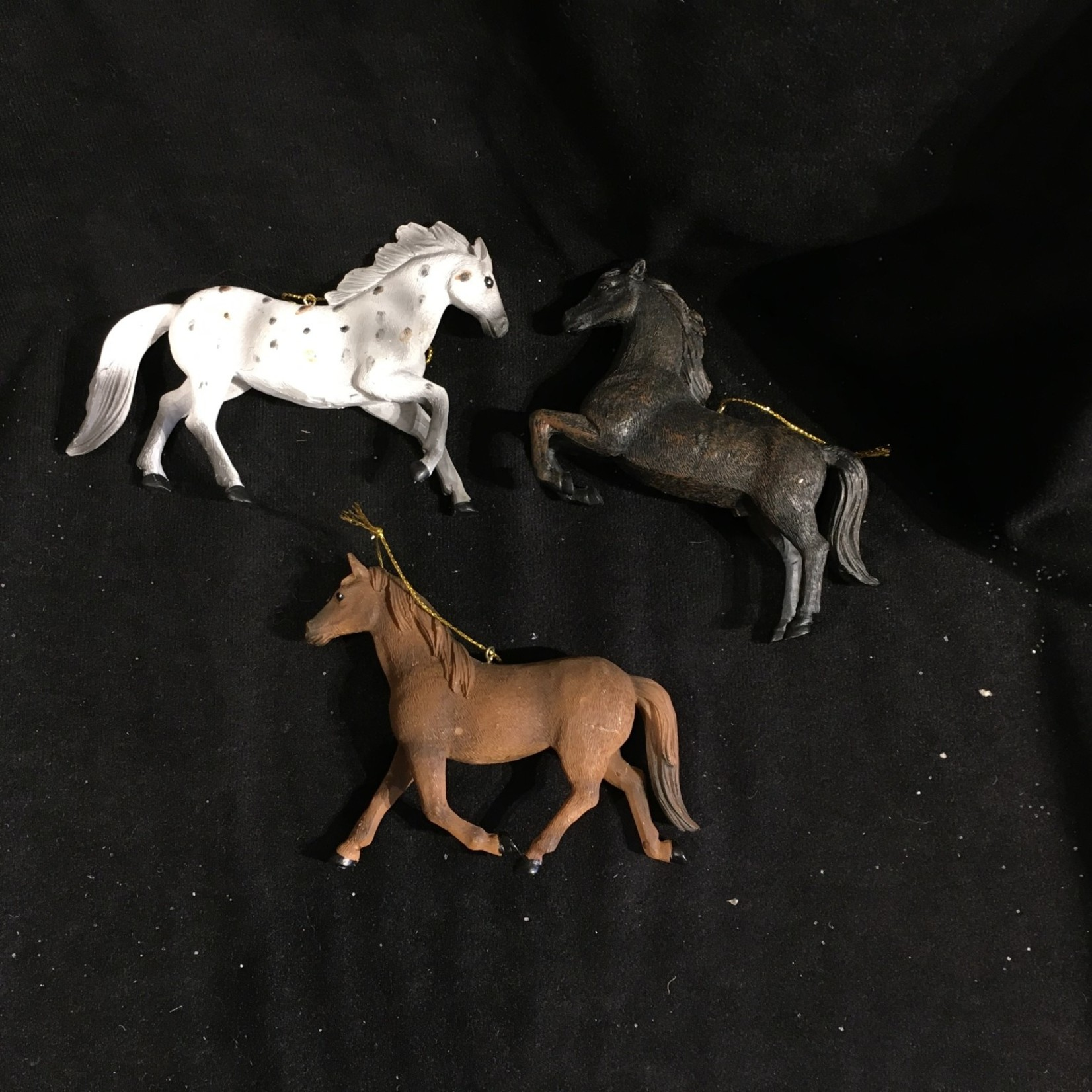 """4"""" Horse Ornament (black only)"""