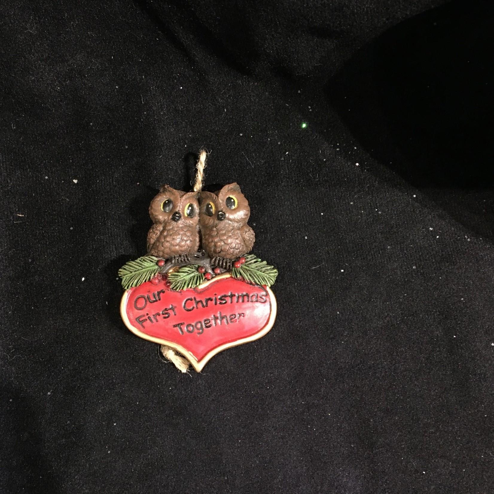 **Owl Couple First Christmas