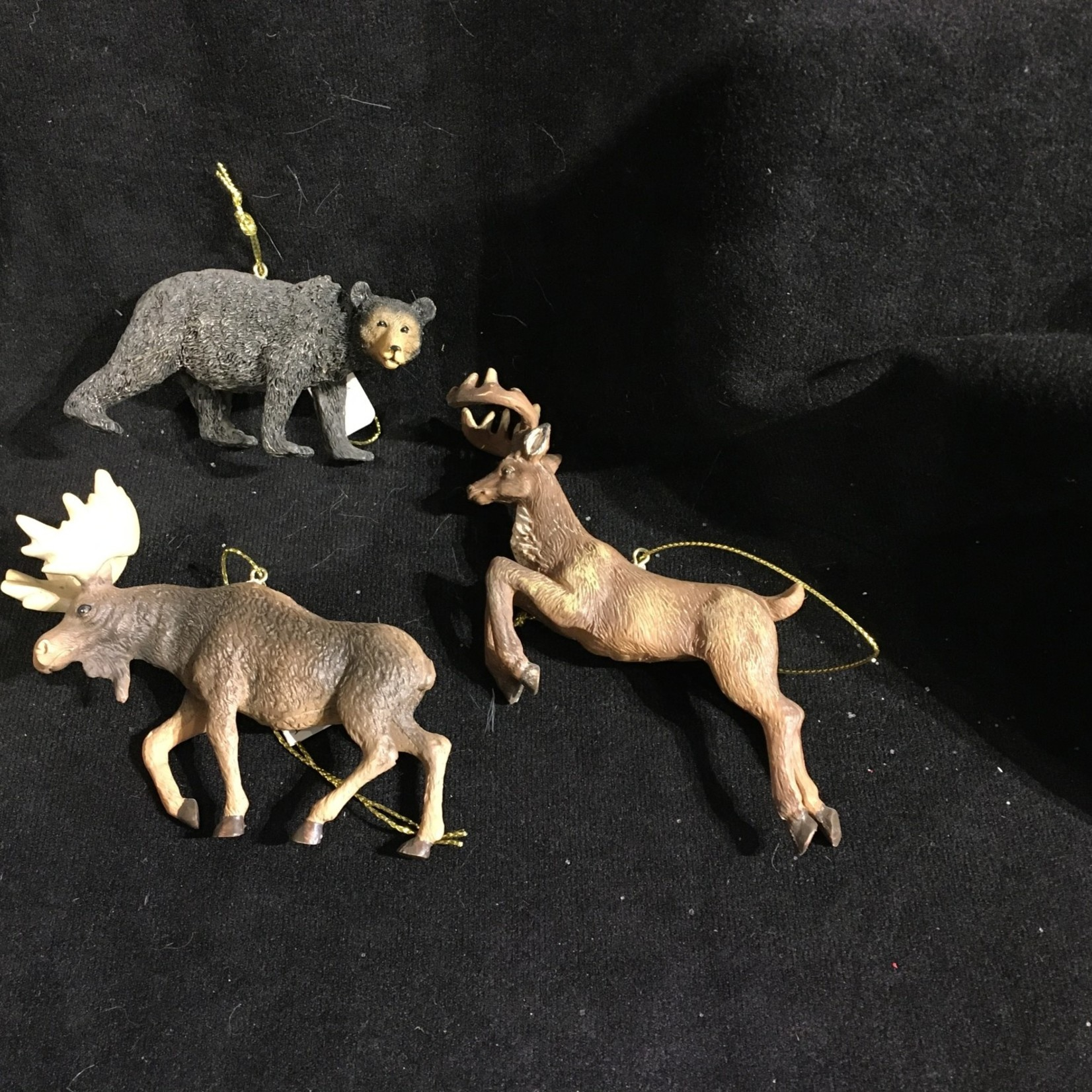 **Forest Animal Ornament 3A