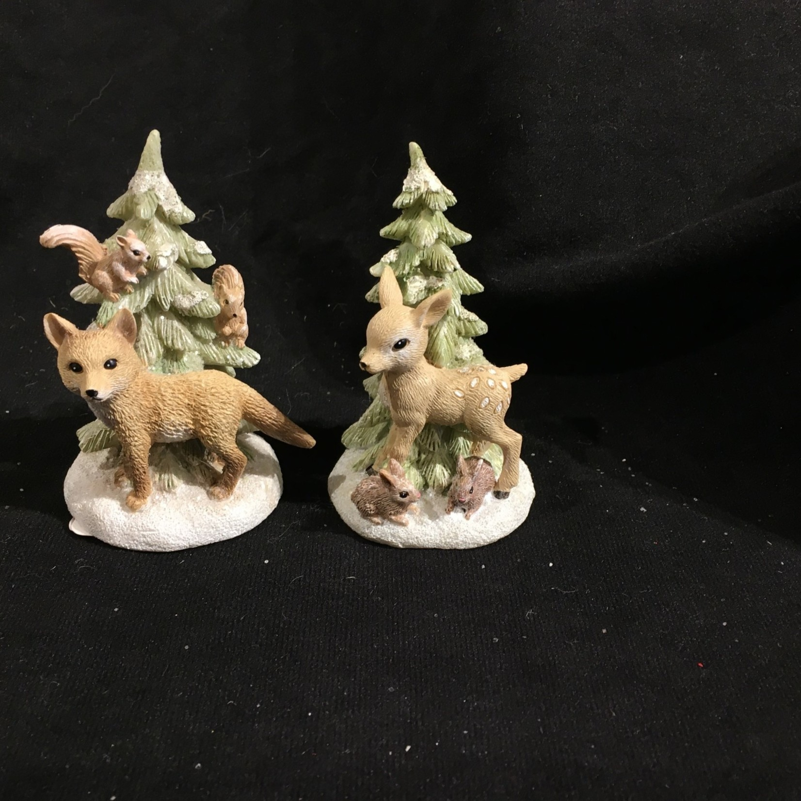 Baby Forest Animal Figurine 2A