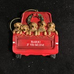 **Dogs in Truck Orn 2A