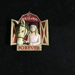 **Friends Forever Horse Orn