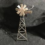 **Metal Windmill Ornament