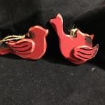 **Small Wood Cardinal Orn 4A
