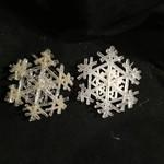 "**4.5"" Acrylic Snowflake 2A"