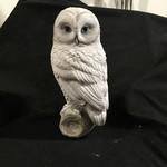 "11"" Snow Owl Figurine"