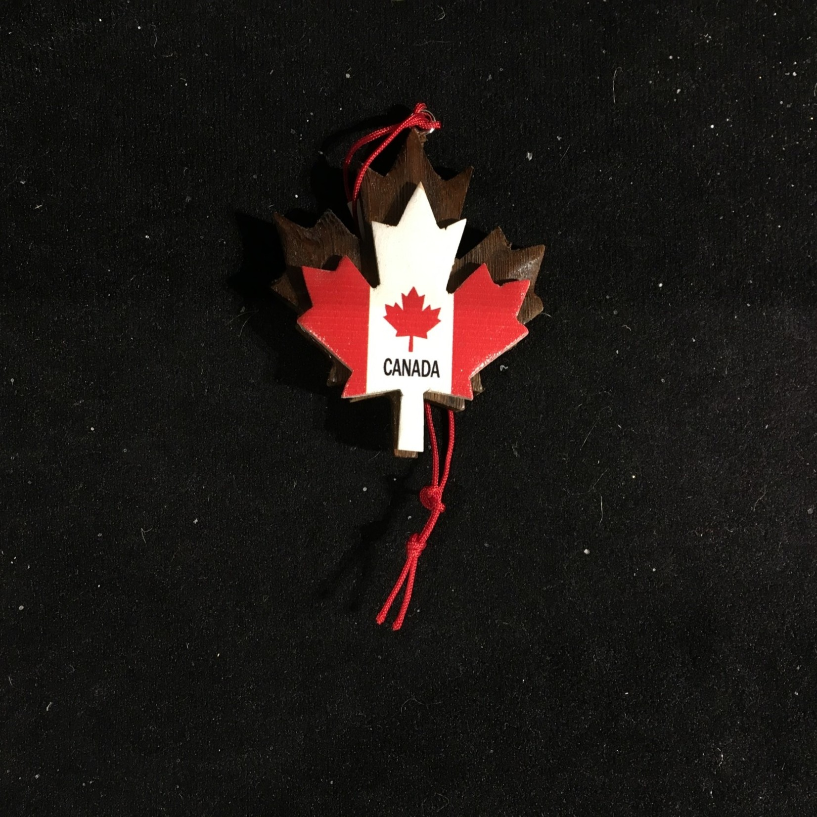 **Double Layered Maple Leaf Ornament
