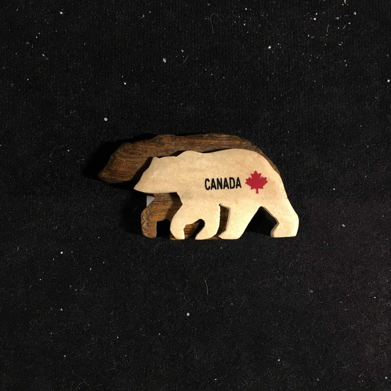 Double Layered Bear Magnet