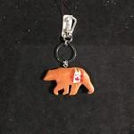 Bear w/Canada Paw Print Key Chain
