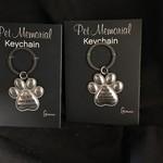 Paw Print Key Chain 2A