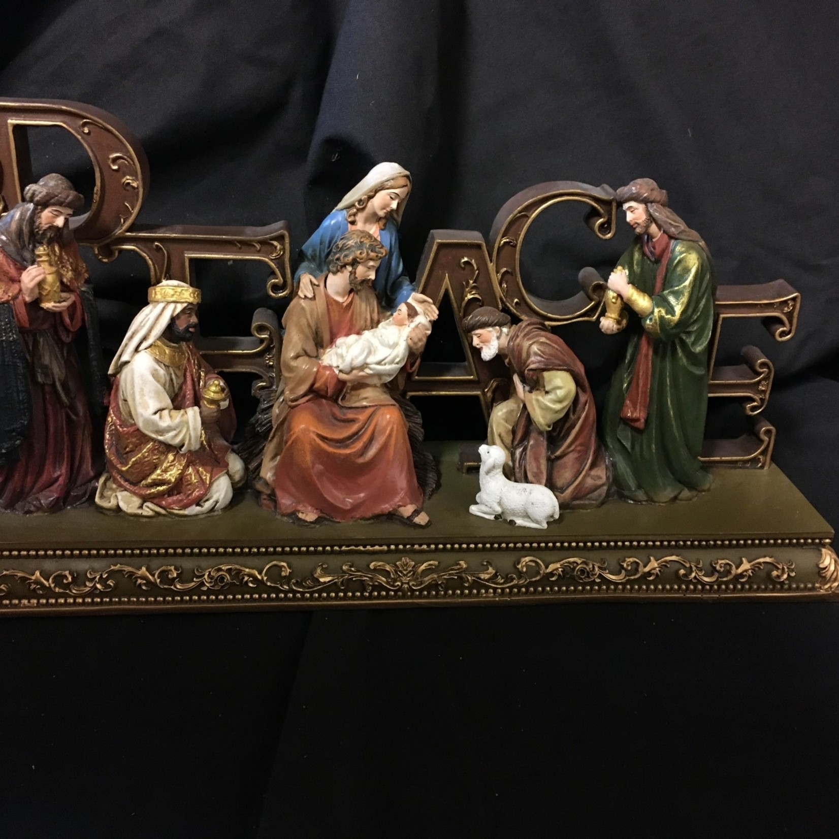 """6x12"""" Peace Nativity"""
