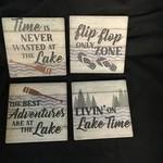 Lake Patter Stoneware Coasters (4 pk)