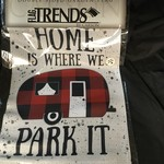 Flag- Home Is Where We Park It