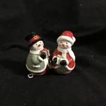 Snowman Salt & Pepper
