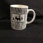 Moose in Forest Mug