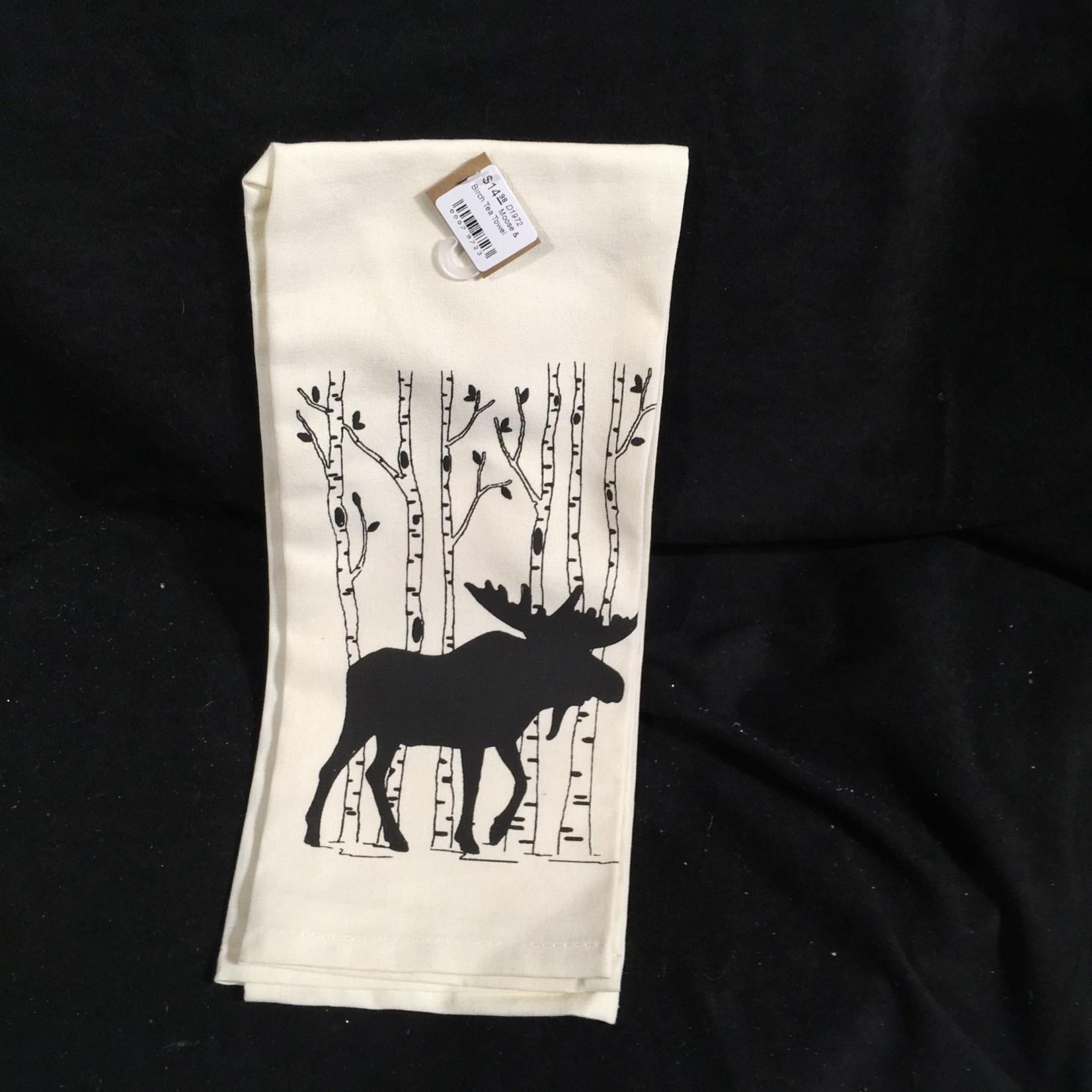 **Moose & Birch Tea Towel