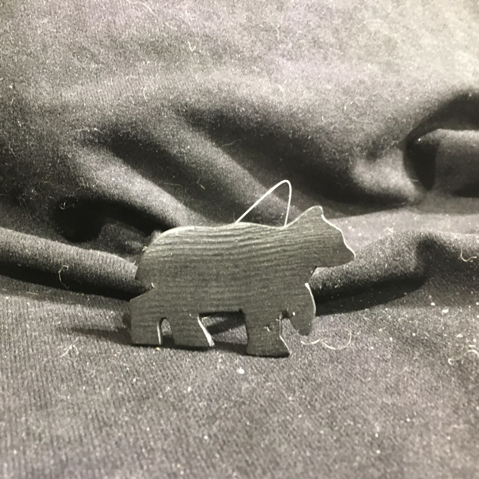 Black Bear Napkin Ring (Iron)